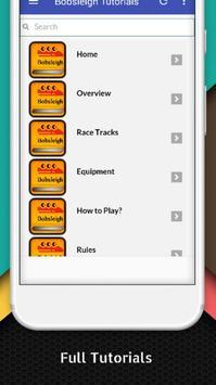 Tutorials for Bobsleigh Offline apk screenshot