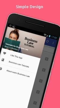 Tutorials for Business Law Offline poster