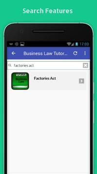 Tutorials for Business Law Offline screenshot 2
