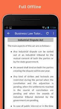 Tutorials for Business Law Offline screenshot 4