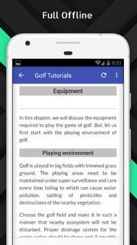 Tutorials for Golf Offline screenshot 4