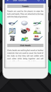 Tutorials for Golf Offline screenshot 5