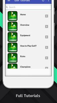 Tutorials for Golf Offline screenshot 1