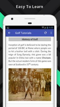 Tutorials for Golf Offline screenshot 2