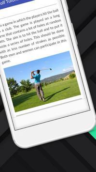 Tutorials for Golf Offline screenshot 3