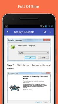 Tutorials for Groovy Offline screenshot 4