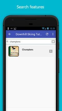 Tutorials for Downhill Skiing Offline screenshot 2