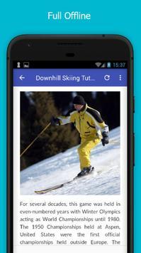 Tutorials for Downhill Skiing Offline screenshot 4