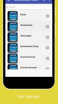 Tutorials for DocumentDB Offline apk screenshot