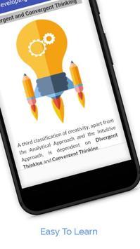 Tutorials for Developing Creativity Offline apk screenshot