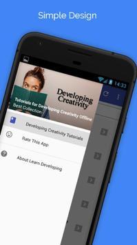 Tutorials for Developing Creativity Offline poster