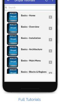 Tutorials for Drupal Offline screenshot 1