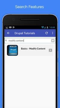 Tutorials for Drupal Offline screenshot 2