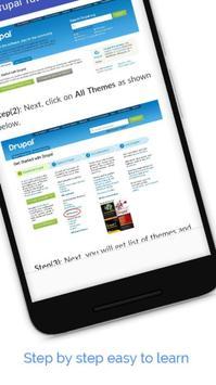 Tutorials for Drupal Offline screenshot 3