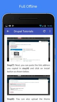 Tutorials for Drupal Offline screenshot 4