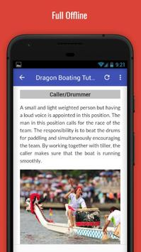 Tutorials for Dragon Boating Offline screenshot 4