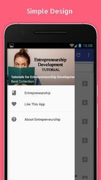 Tutorials for Entrepreneurship Development Offline poster