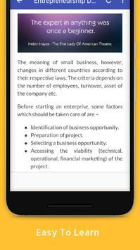 Tutorials for Entrepreneurship Development Offline screenshot 3