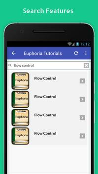 Tutorials for Euphoria Offline screenshot 2