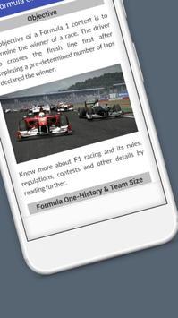 Tutorials for Formula One Offline apk screenshot
