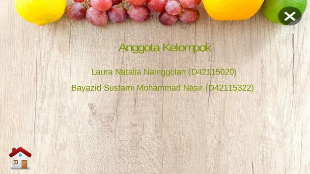 Learn Fruit poster