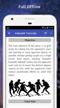 Tutorials for Kabaddi Offline screenshot 4
