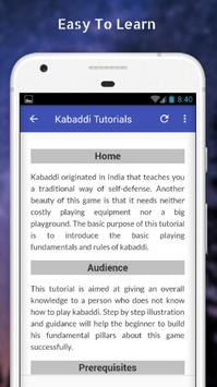 Tutorials for Kabaddi Offline screenshot 2
