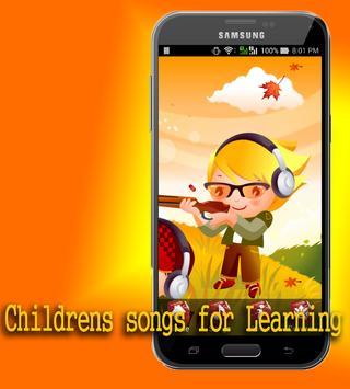 Childrens songs for Learning apk screenshot