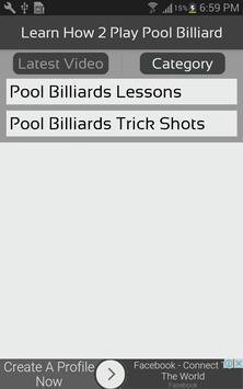 Learn How 2 Play Pool Billiard screenshot 2