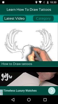 Learn How To Draw Tattoos screenshot 1