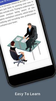 Tutorials for How to Interview Offline apk screenshot