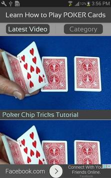 Learn How to Play POKER Cards screenshot 1