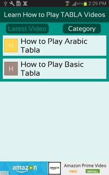 Learn How to Play TABLA Videos apk screenshot