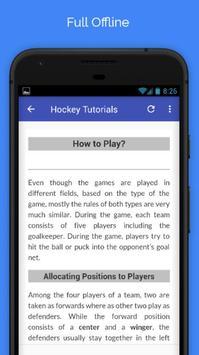 Tutorials for Hockey Offline screenshot 4
