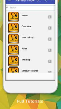 Tutorials for Hammer Throw Offline screenshot 1