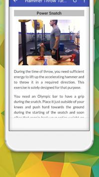 Tutorials for Hammer Throw Offline screenshot 5