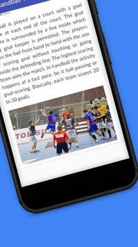 Tutorials for Handball Offline screenshot 3