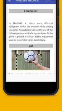 Tutorials for Handball Offline screenshot 5