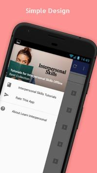 Tutorials for Interpersonal Skills Offline poster