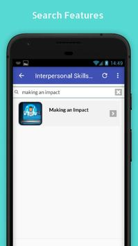 Tutorials for Interpersonal Skills Offline screenshot 2