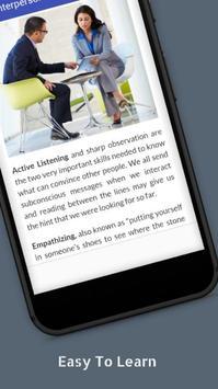 Tutorials for Interpersonal Skills Offline apk screenshot