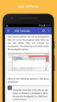Tutorials for JDB Offline apk screenshot