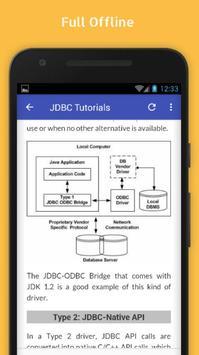Tutorials for JDBC Offline screenshot 4