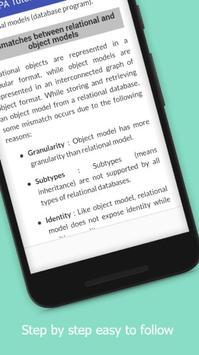 Tutorials for JPA Offline screenshot 3