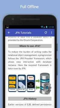 Tutorials for JPA Offline screenshot 4