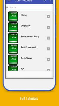 Tutorials for JUnit Offline screenshot 1