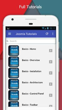 Tutorials for Joomla Offline screenshot 1