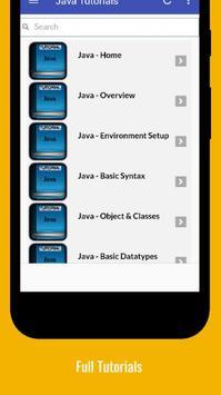 Tutorials for Java Offline screenshot 1