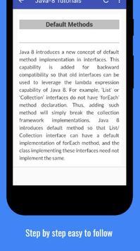 Tutorials for Java8 Offline screenshot 3