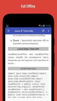 Tutorials for Java8 Offline screenshot 4